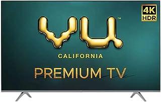 VU 139 cm (55 Inches) 4K Ultra HD Smart Android LED TV 55PM (Black) (2020 Model)