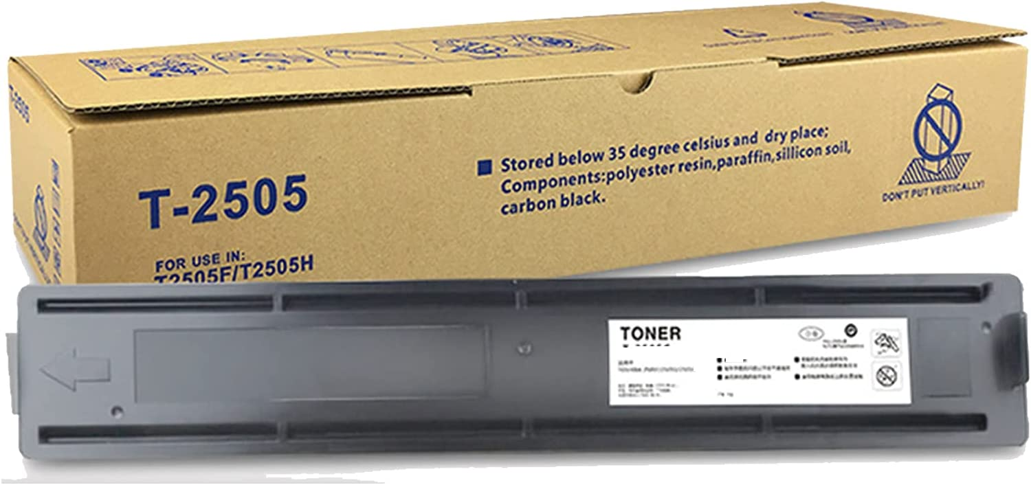 SSBY Compatible Toner Cartridge Replacement for Toshiba T-2505, Suitable for E-Studio DP2505H DP2505S Printer T-2505E