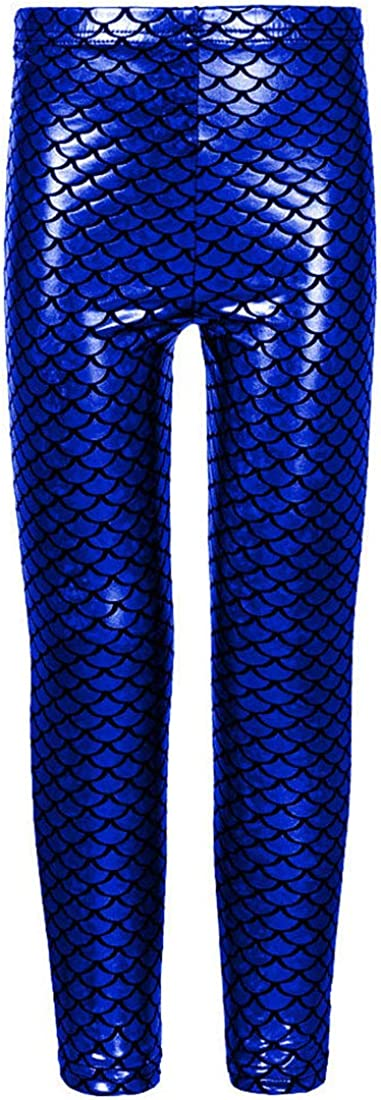 25% OFF Loxdonz Kids Challenge the lowest price Baby Girls Mermaid Scale Leggings Fish Stretch Long