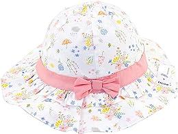 Snyemio Chapeau de Soleil Bébé Fille Bonnet en Cot