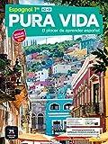 Espagnol 1re A2B1 Pura vida : El placer de aprender español (ELE NIVEAU SCOLAIRE TVA 5,5%)