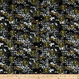 Sykel Enterprises Military Army Abstract Geometric Allover Quilt Fabric, Multicolor, Quilt Fabric By The Yard