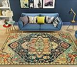 A-Generic Alfombra marroquí Vintage, Alfombra para Sala de Estar, hogar, Dormitorio, sofá, Mesa de café, Alfombra para el Suelo, Alfombra para Sala de Estudio-5_Los 80x160cm