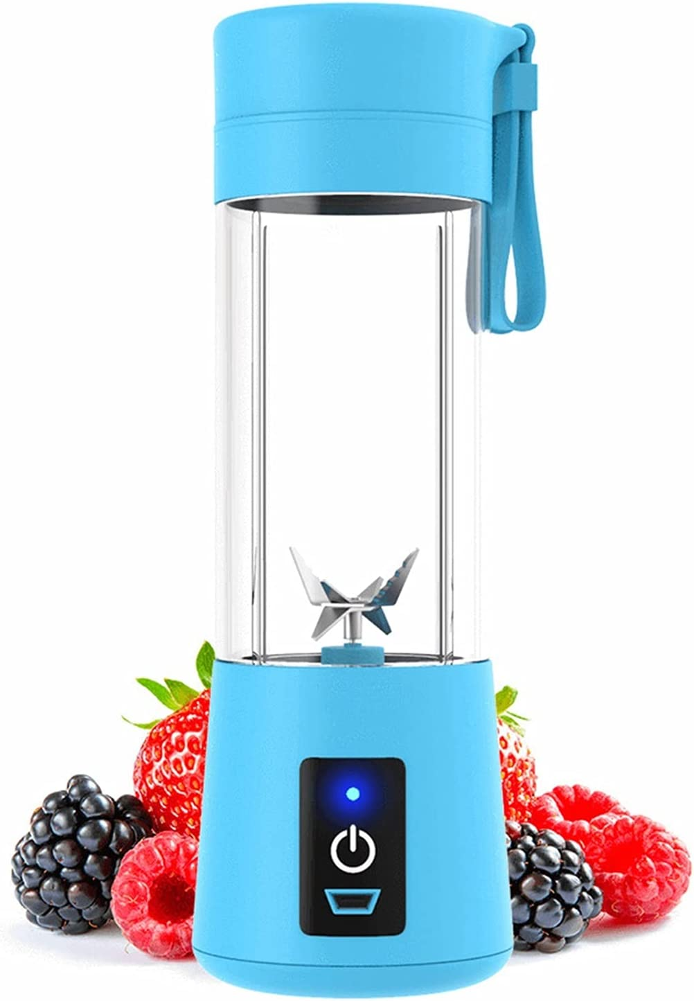 380ml 6 Blades Portable Blender Household 2021 spring and Japan Maker New summer new Juicer Electric Fruit