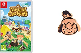 Animal Crossing: New Horizons (Nintendo Switch) + Pin Isabelle
