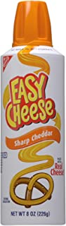 Easy Cheese Cheese Snack Sauce - Sharp Cheddar - 8.00 Ounces