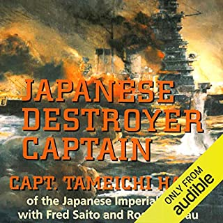 Japanese Destroyer Captain audiobook cover art