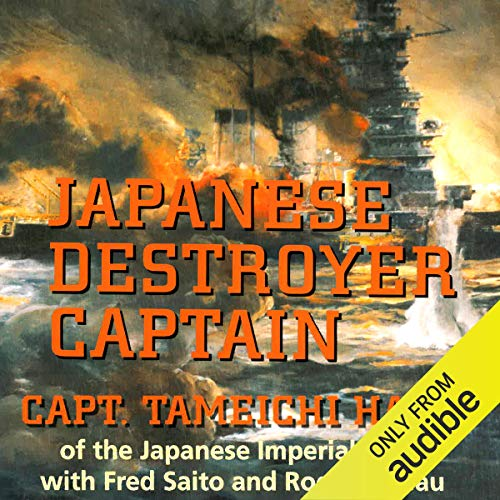 Japanese Destroyer Captain  By  cover art