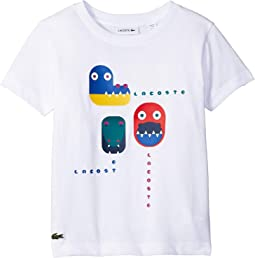 Short Sleeve Video Game Print Tee Shirt (Toddler/Little Kids/Big Kids)