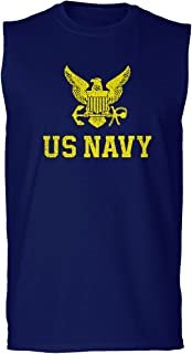 U.S. Navy Seal United States of America Combat Soldier Military USN Men's Muscle Tank Sleeveles t Shirt