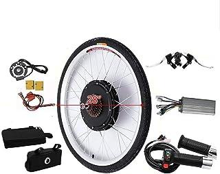 Nfudishpu 28 Inch E-Bike Conversion Kit Electric Bicycle Conversion Kit Rear Wheel Tail Motor