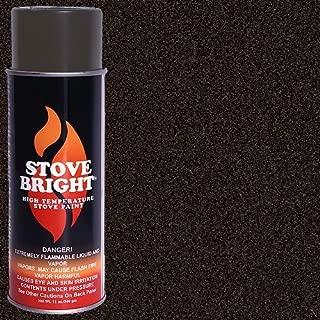 Stove Bright High Temp Paint - Rich Brown Metallic