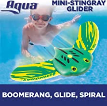 Aqua Mini Stingray Underwater Gliders (2 Pack), Self-Propelled, Adjustable Fins, Travels up to 40 Feet, Pool Game, Ages 5 and up