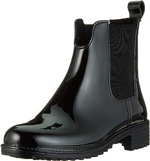Rieker Damen Stiefeletten P8280, Frauen Chelsea Boots,Halbstiefel,gefüttert