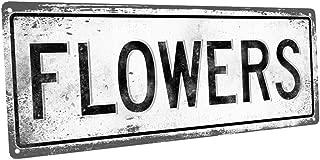 Best metal flower sign Reviews