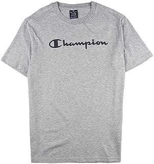 Champion Crewneck T-Shirt for Men - Grey XL