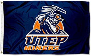 College Flags and Banners Co. Texas El Paso Miners Blue Flag