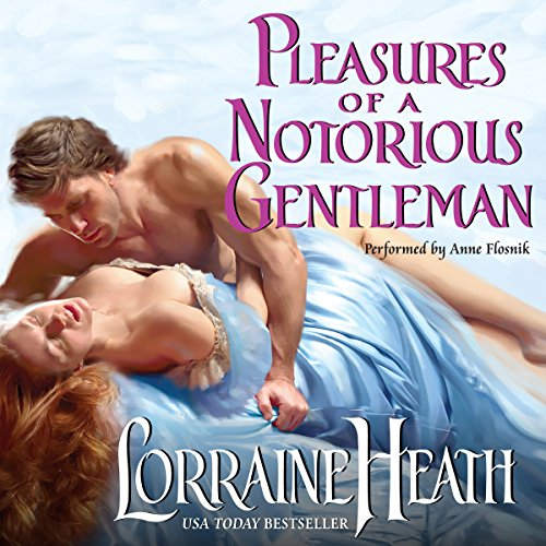 Pleasures of a Notorious Gentleman audiobook cover art