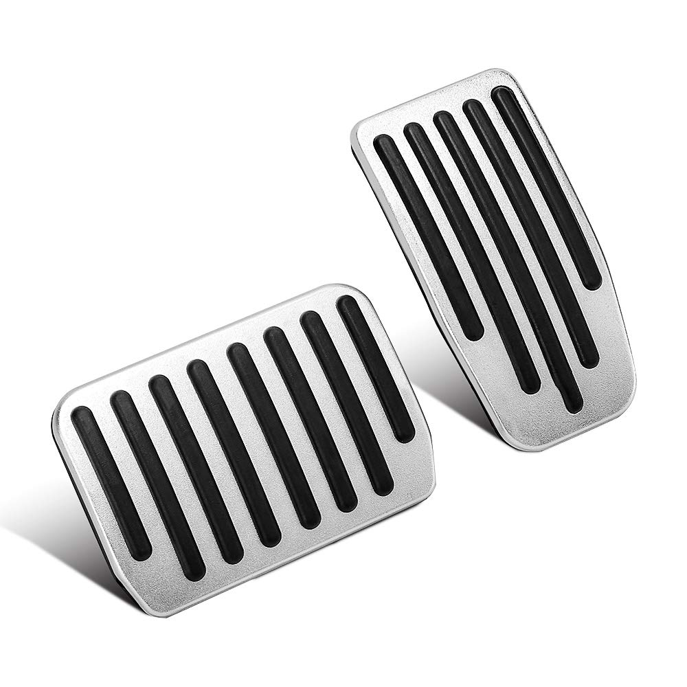 304 Stainless Steel Brake Accelerator Pedal Pads Pedal Cover Parts Car Accessories for Land Rover Freelander 2 2007-2015
