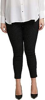 Fiorella Rubino : Pantaloni Skinny a Pois Donna (Plus Size)