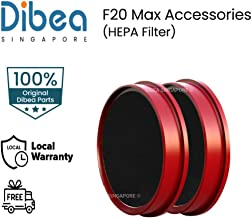 [Dibea Singapore] DIBEA F20 Max Replacement Hepa Filter | Washable | Dust Collection | Bundle of 2 x Hepa Filter