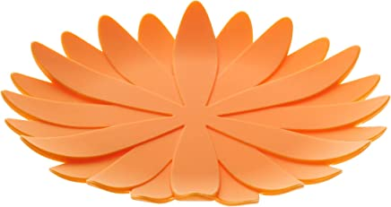 山崎実業(Yamazaki) 立体コースター ガーベラ オレンジ 約W10.5×D10.5×H1cm 7941