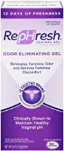 REPHRESH Vaginal Gel, Odor Eliminating Gel,4 Pre-Filled Applicators