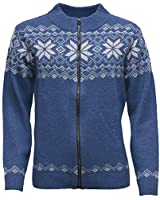 ICEWEAR Nótt Angora Blend Sweater Blue