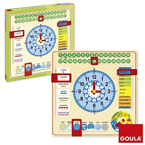 Goula 51308 - Orologio Calendario Francese