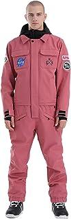 GSOU SNOW Men's Ski Suits Womens One Piece Snowsuits Waterproof Ski Jackets