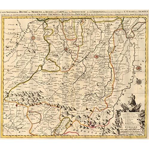 Cartel, Mapa Del Mundo Vintage World Maps Cartel Madrid Capital De España...