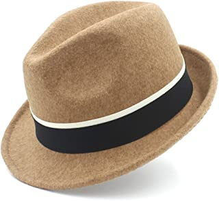 Sun Hat for men and women Cap Fedora Hat For Gentleman Cap Elegant Lady Felt Homburg Church British Derby Caps