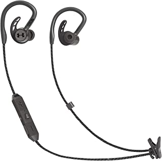 JBL UA SPORT WIRELESS  PIVOT Bluetoothイヤホン 耳掛けデザイン/IPX7防水/アンダーアーマー ブラック UAJBLPIVOTBLK 【国内正規品/メーカー1年保証付き】