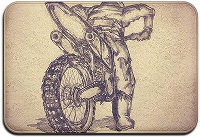 Motocross Tattoo Sketch by Alfombrilla de Goma para Exteriores ...