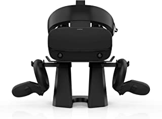 AMVR Upgraded Version 2nd VR Stand,More Stable Base Headset Display Holder and Controller Mount Station for Oculus Quest, ...
