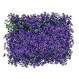 Aibyks Künstliche Efeu Hecke Künstliche Pflanzenplatten Künstliche Efeu-Blatt-Gartenzaun-Anlage Datenschutz Hecke-Bildschirm Künstliche Efeu-Blatt-Gartenzaun-Screening 40x60cm
