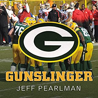 Gunslinger     The Remarkable, Improbable, Iconic Life of Brett Favre              By:                                                                                                                                 Jeff Pearlman                               Narrated by:                                                                                                                                 Barry Abrams                      Length: 17 hrs and 37 mins     266 ratings     Overall 4.5