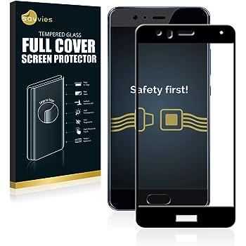 savvies Cristal Templado Completo Compatible con Huawei P10 Lite ...