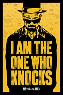 Pyramid America Breaking Bad I Am The One Who Knocks TV Show Cool Wall Decor Art Print Poster 24x36