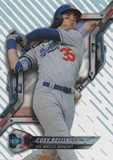 2018 Topps High Tek Pattern 1#HT-CBE Cody Bellinger Los Angeles Dodgers Baseball Card