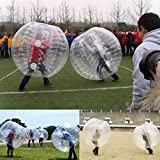 Leadchoice999-Outdoor & Sports Two Pieces 58.5' Large Bumper Ball Adult Size Inflatable PVC Grass Snow