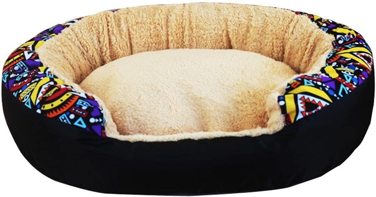 Aoligei Kennel can be Washable Mattress pet Cool Nest Perfect for Sunbathing mat, Nap&Sleeping Bed