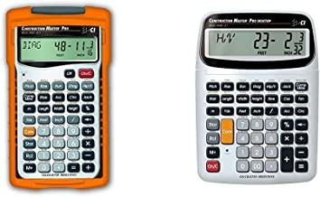 Calculated Industries 4065 Construction Master ProCalculator & 44080 Construction Master Pro-Desktop Advanced Construction... photo