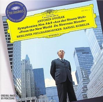 """Dvorák: Symphony Nos.8 & 9 """"From The New World"""""""