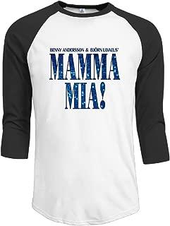 Mamma Mia Meryl Streep Raglan Half Sleeve Men' Half Sleeve T Shirts O-Neck Unique