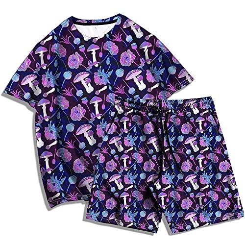 YaNanHome T-Shirt Camiseta Informal para Hombre Algodón Largos Jogging Pantalón Deportivos con Bolsillos para Yoga Fitness Jogger Correr Casual/C/XXXL