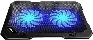 TopMate TM-2 C302 10-15.6 Ultra Slim Portable 2 Quite 14CM Big Fans 1400RPM Laptop Cooler Cooling Pad