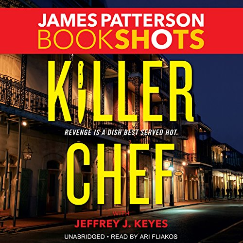 Killer Chef audiobook cover art