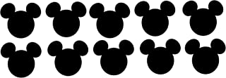 Disney Mickey Mouse Head Die Cuts - 10piece 5 Inches Wide
