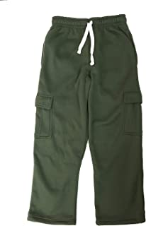 Henry & William Men's Basic Fleece Cargo Pants